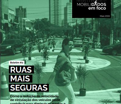 MobiliDADOS lança o boletim #2 sobre segurança viária