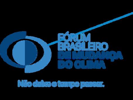 Nova liderança do Fórum Brasileiro de Mudança do Clima
