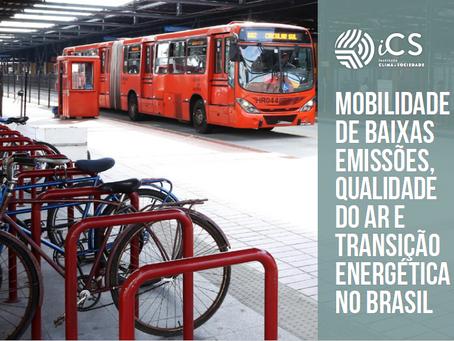 Pesquisa: Mobilidade de Baixas Emissões
