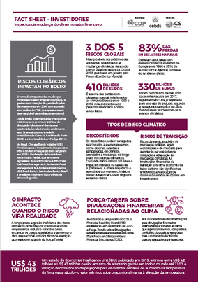 Fact Sheet – Investidores