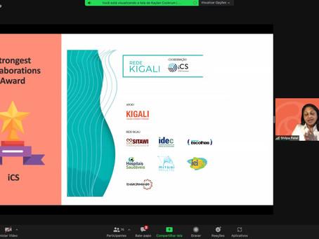 Reconhecimento para a Rede Kigali