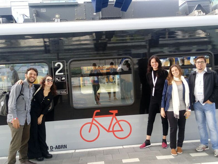 iCS takes delegation with oficial members to Velo-City 2017