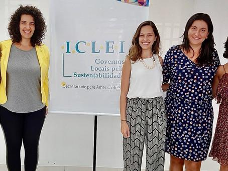 Parceria entre Instituto Alziras e ICLEI América do Sul