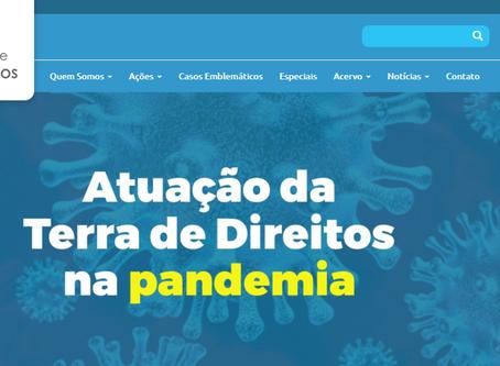 Positioning of Terra de Direitos [Land of Rights]