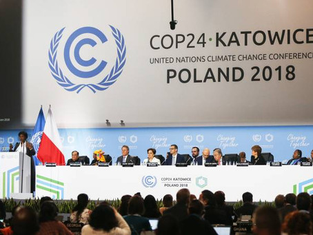 Still about Katowice II:  A brief report from behind the scenes at the recent climate conference