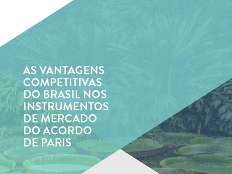 As vantagens competitivas do Brasil nos instrumentos de mercado do Acordo de Paris