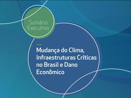 Qual é o valor do dano econômico causado pelas mudanças climáticas nas infraestruturas críticas?