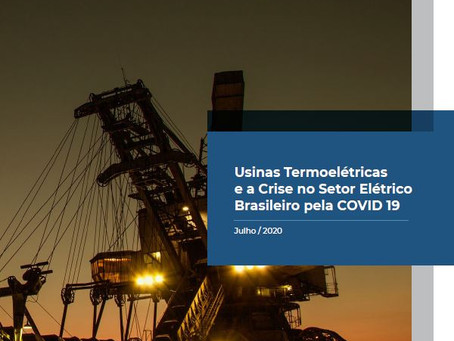 Thermoelectric Plants and the Crisis in the Brazilian Electricity Sector due to COVID-19