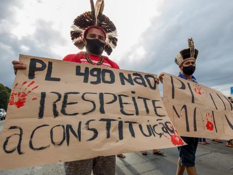 PL 490, grave ameaça aos povos indígenas, é pauta única na CCJ deste 23/06/2021