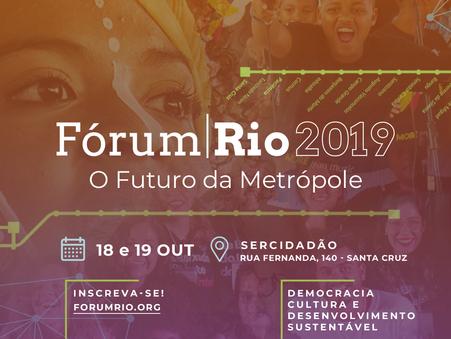 Casa Fluminense realiza a 13ª edição do Fórum Rio 2019, no Rio de Janeiro