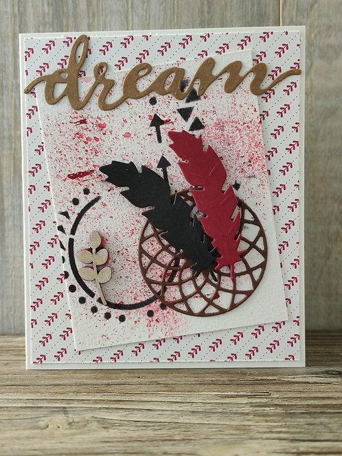 """Carte"""" Faites de beaux rêves"""""""