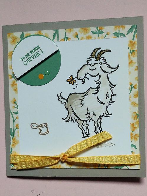 Carte chèvre