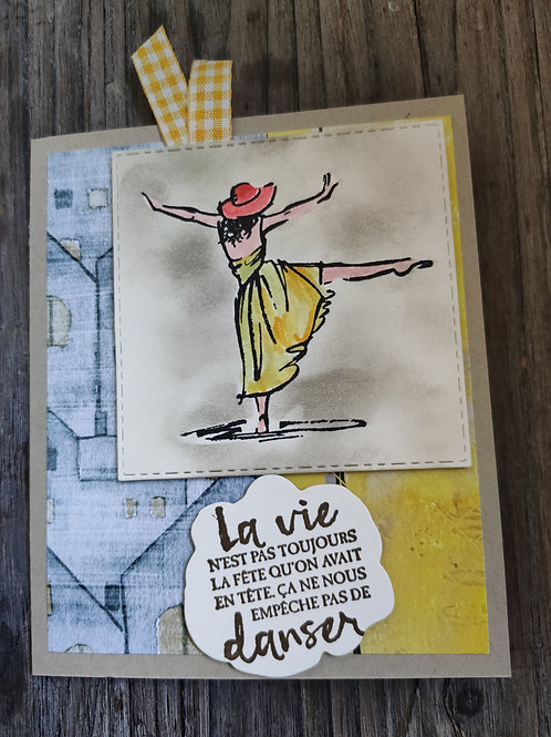 "Carte ""Danseuse"""