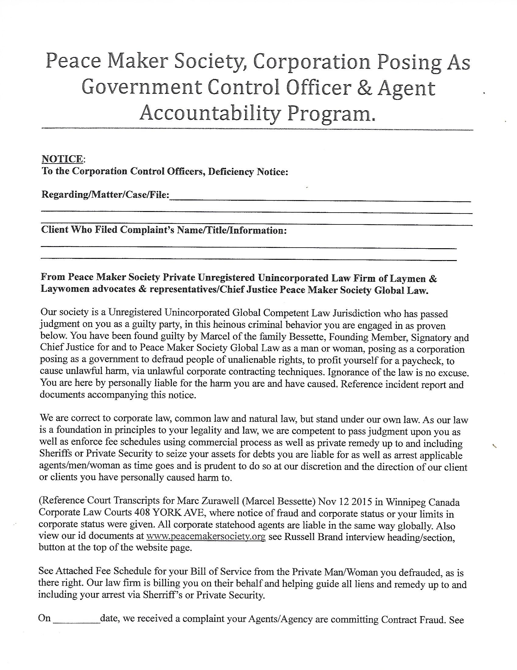Litigation Document Pg1