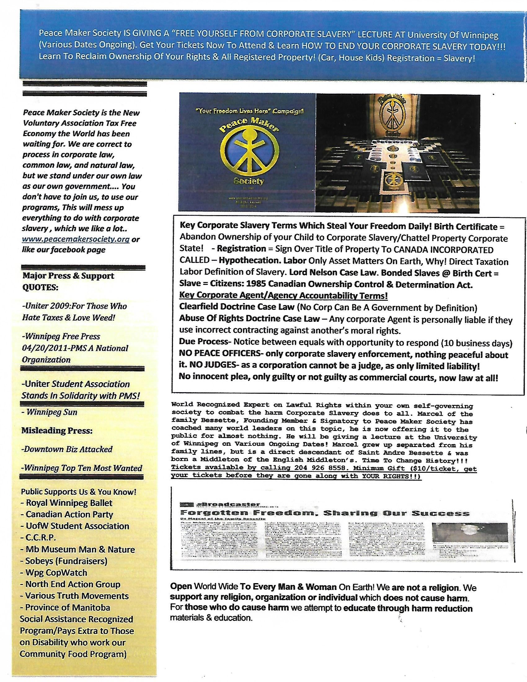Freedom Ticket Lecture Flyer Pg1