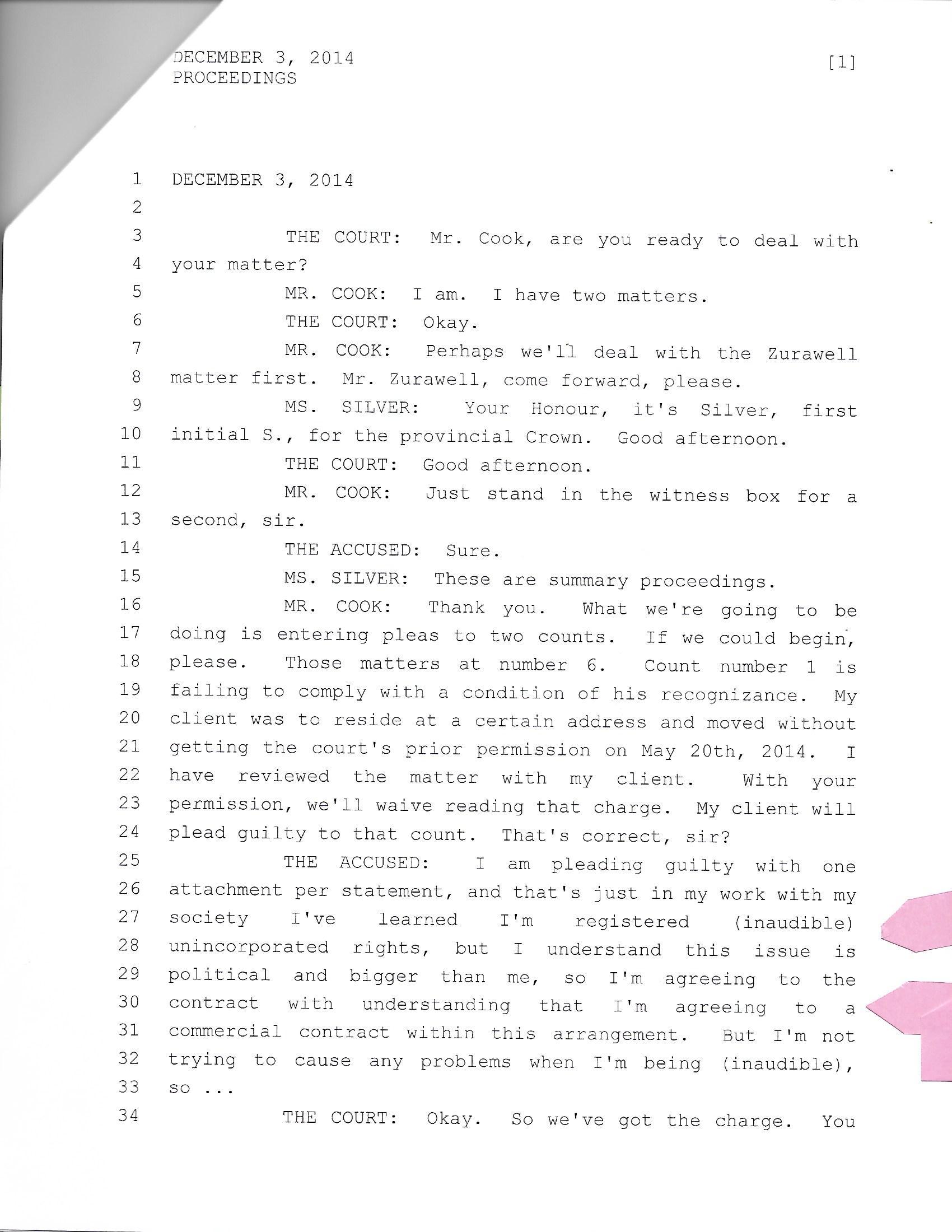Transcript Pg 1