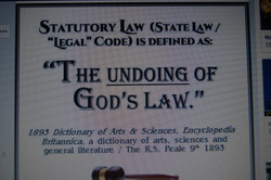 Legality, Undoing of gods law