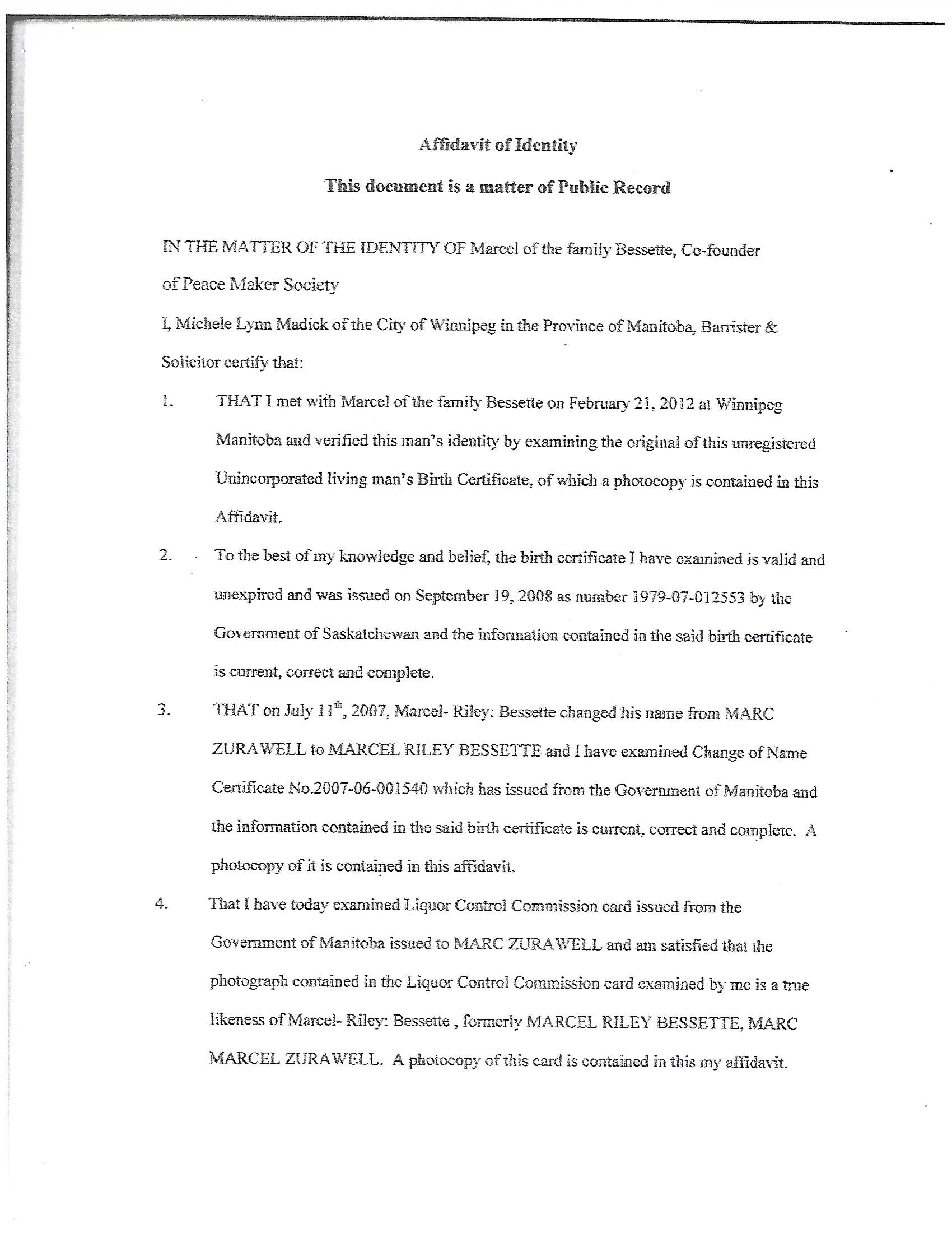 Sovereign ID Document Pg1
