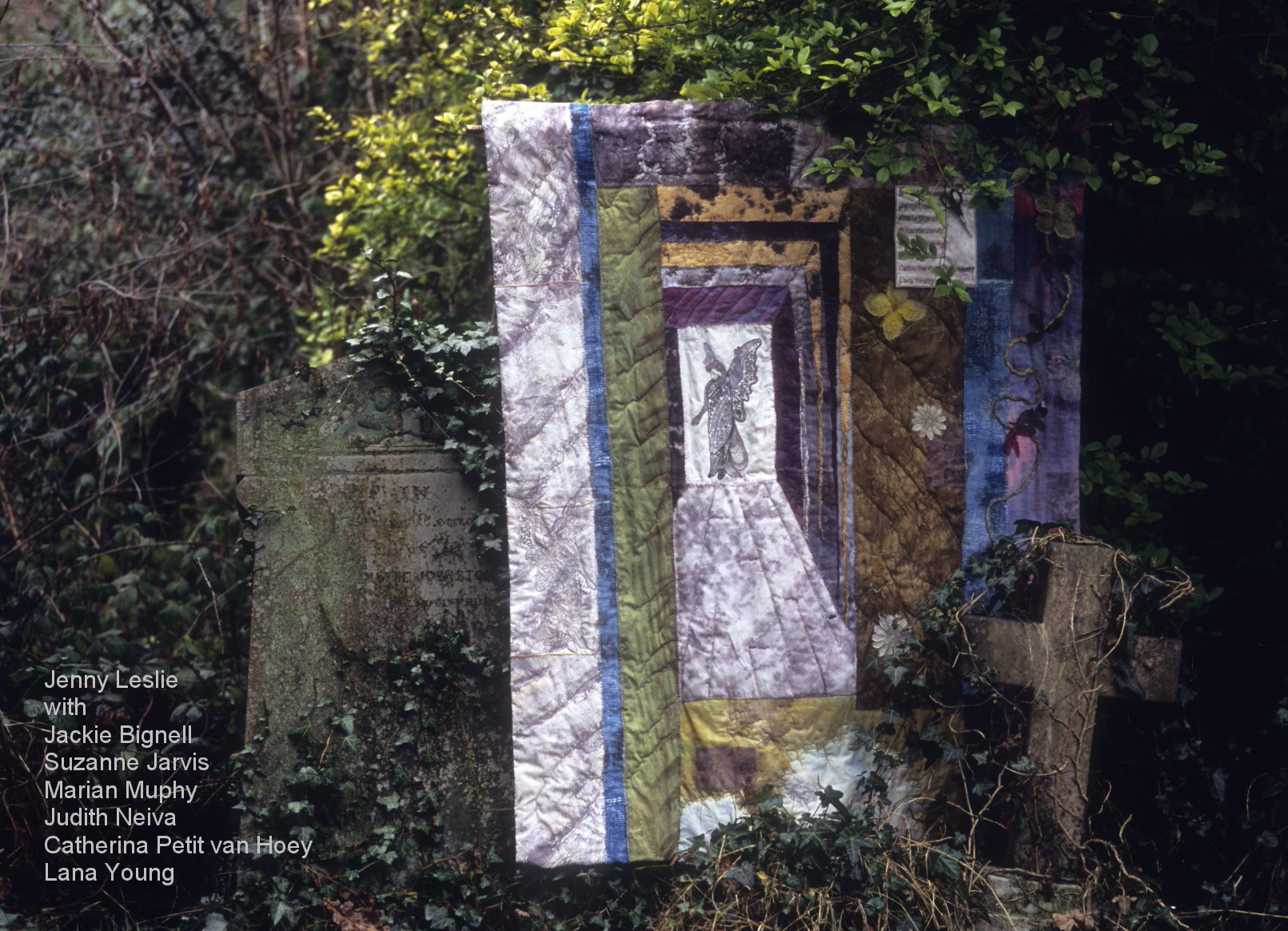 Final textile art piece