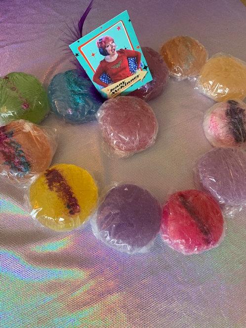 Glittered Biscuit Soap