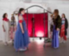 Nina Britschi Thesis Pop-Up Garment Rack Presentation