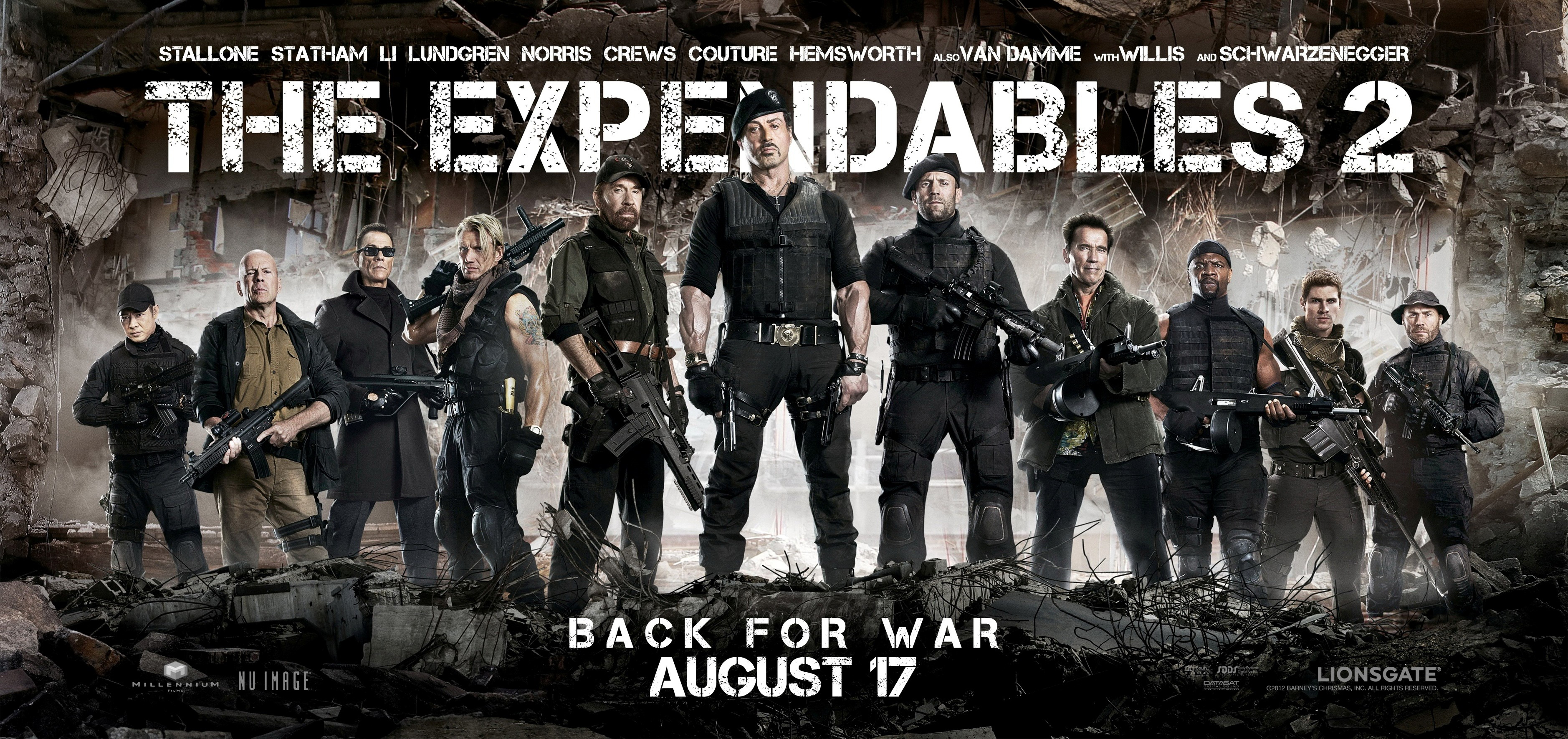 The Expendables 2 (Movie)