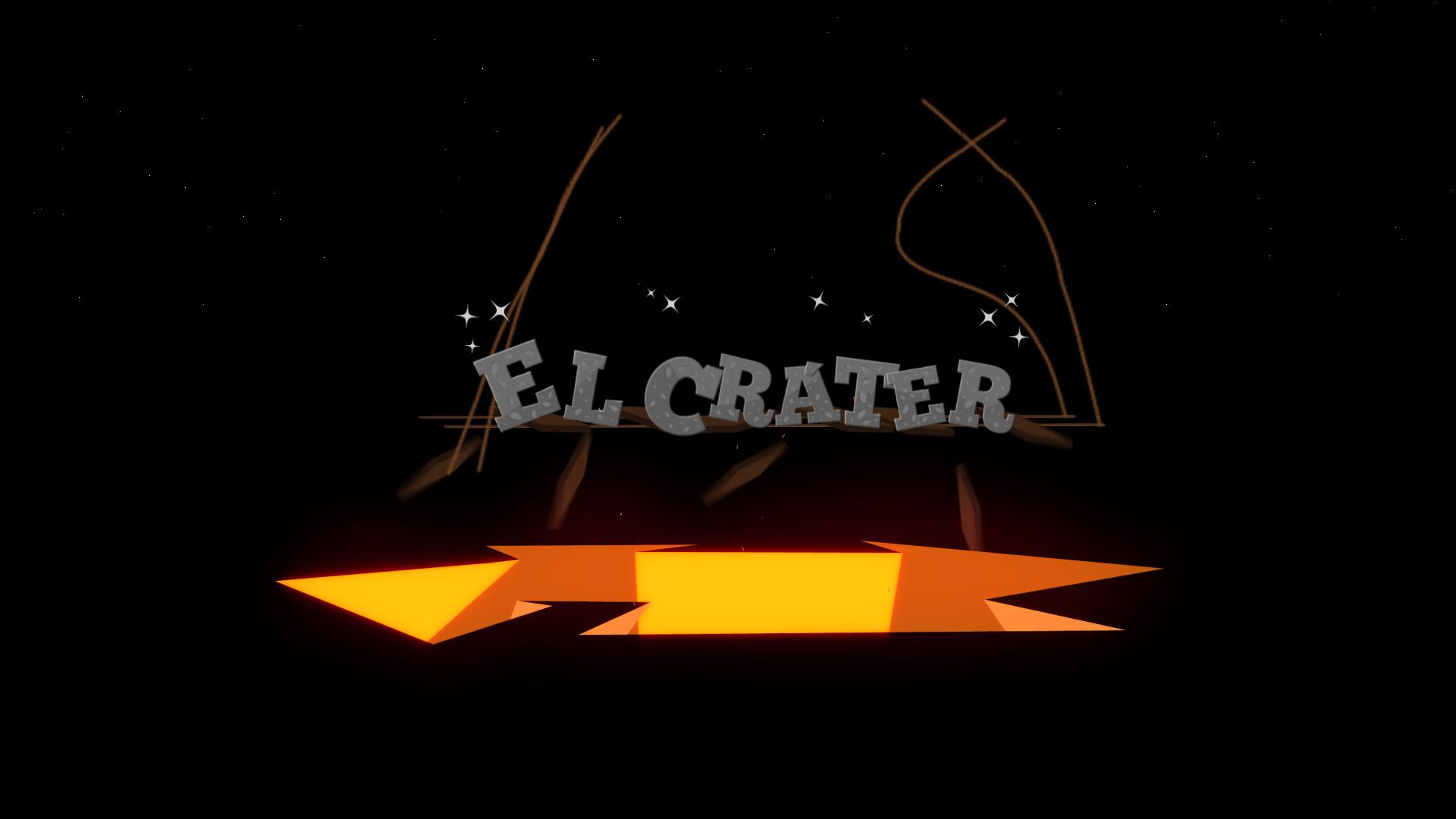 El cráter