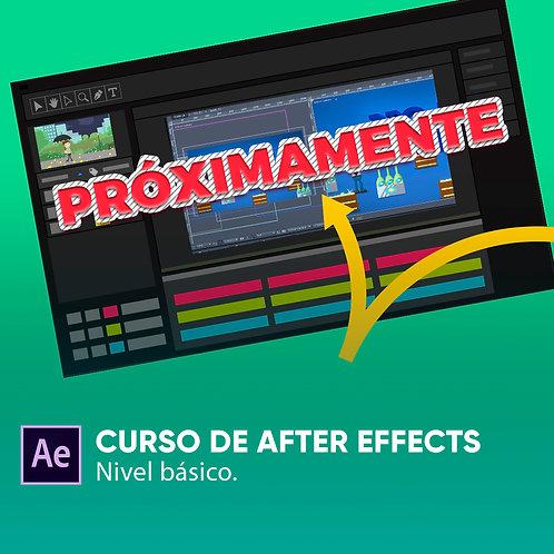 PRÓXIMAMENTE - CURSO DE AFTER EFFECTS - NIVEL BÁSICO