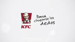 "Campaña KFC ""Justo a tu gusto"""""
