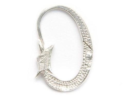 Ohrschlange Silber
