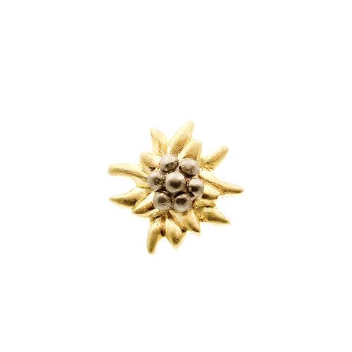 Edelweiss Ohrschraube