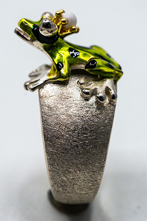 Drachenfels Giftpeil Froschkönig Ring