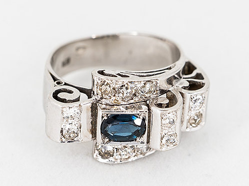 Saphier Brilliant Ring