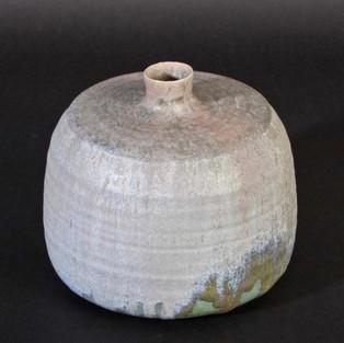 Saltglazed stoneware vase