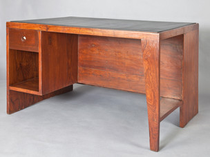 Office table, 1957–1958 [interior view]