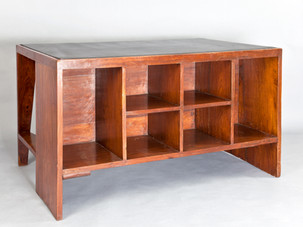 Office table, 1957–1958 [front view]