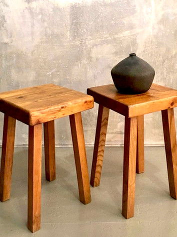 Charlotte Perriand stools, 1969