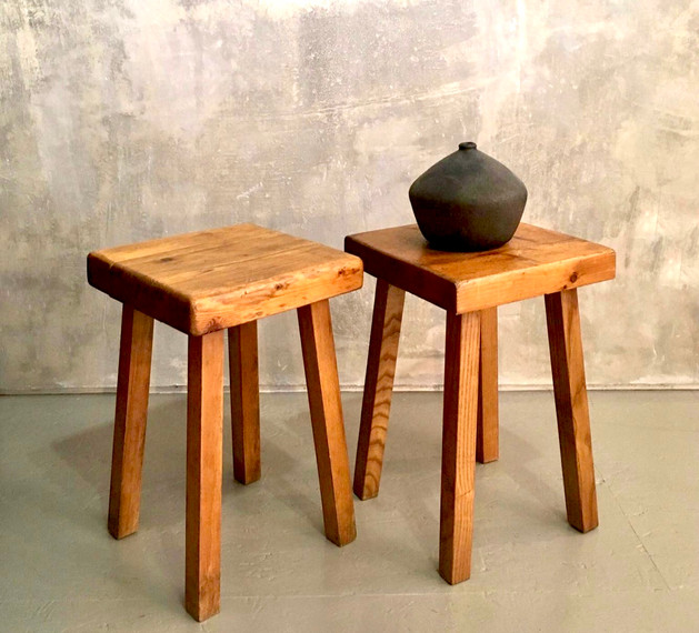 Charlotte Perriand square stools