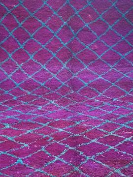 Old Berbere rug, circa 1970