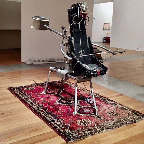 Flying carpet, 2005