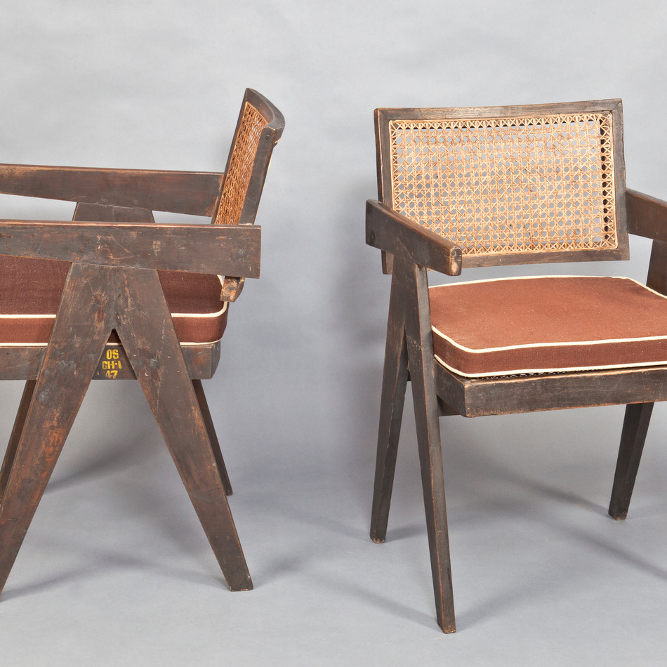 Office Cane chair, 1955–1956