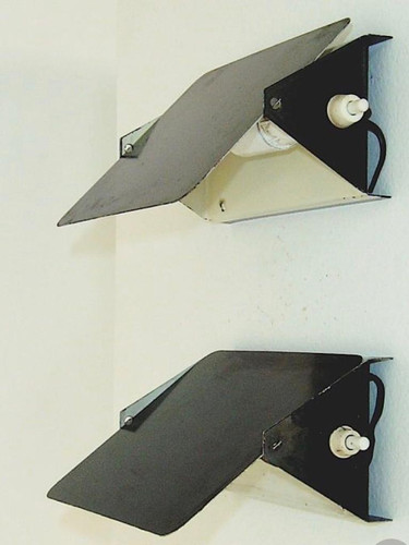 Charlotte Perriand CP-1 wall lights, mid 60's