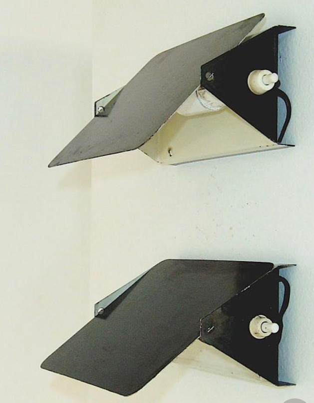 CP-1 wall lights, mid 60s