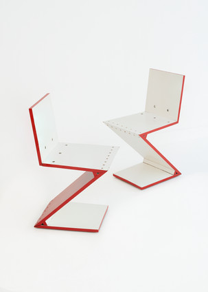 ZIG ZAG CHAIR, late 20th century