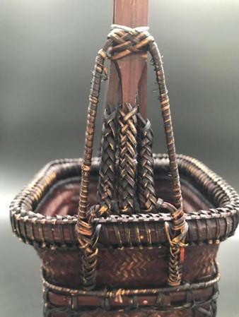 Ikebana basket, 50's