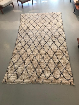 Old Berbere rug, 1960's