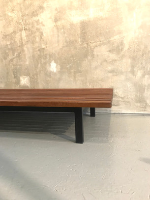Charlotte Perriand, Cansado bench, 1958 to mid 60's
