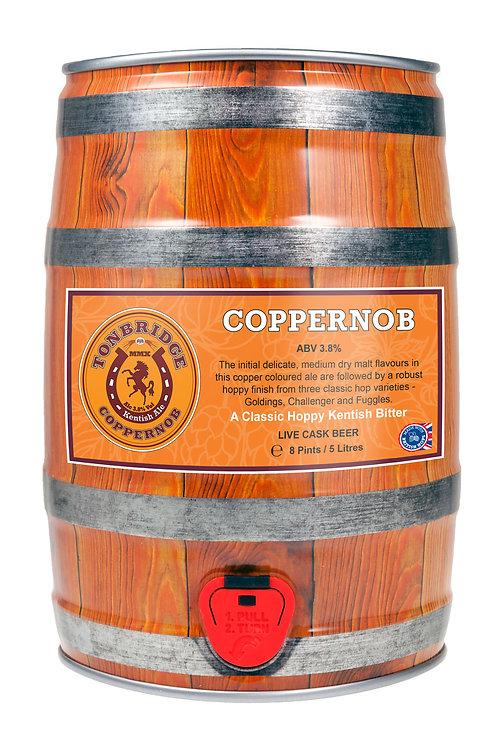 8 Pint Mini-Cask of Coppernob (3.8%) by Tonbridge Brewery
