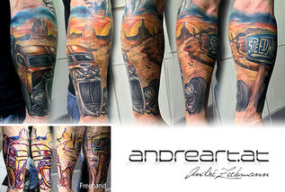 US Car_tattoo_by_andre_zechmann.jpg