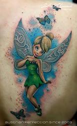 Tinker Bell Shoulder_tattoo_by_andre_zec